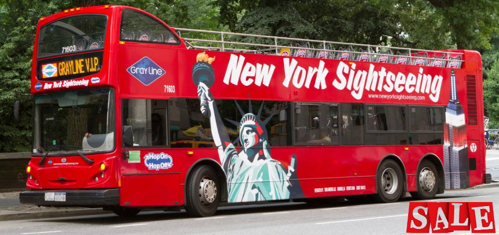 NYC SightSeeing Bus