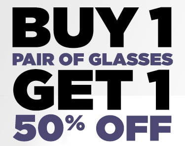BOGO Eyeglasses Offer