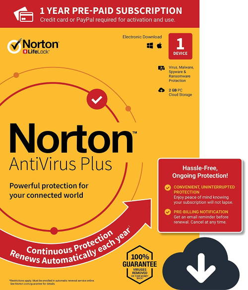 Norton Anti-virus Plus