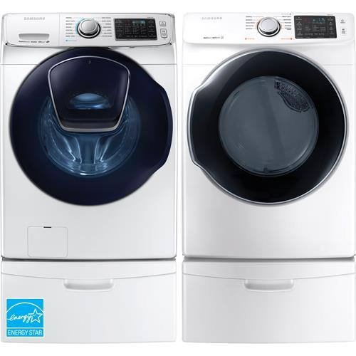 Samsung Front Load Washer & Steam Electric Dryer