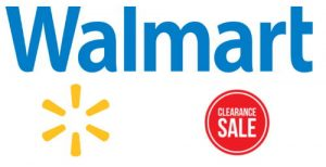 walmart clearance sale