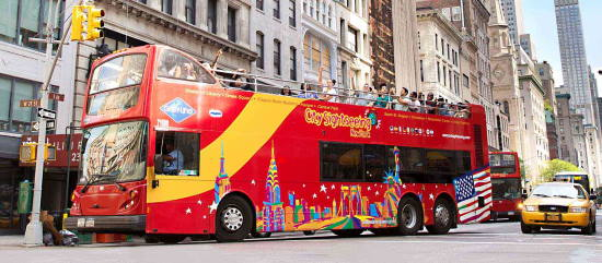 NYC Hop-on, Hop-off Bus Tour