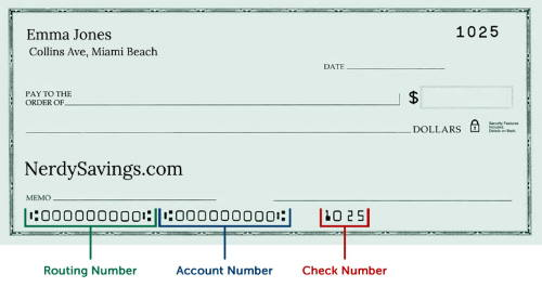Routing Number National Bank